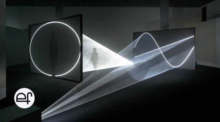 "Lo Pati - Centre d'Art  - Terres de l'Ebre : Anthony McCall + Mark Fell: ""Face to Face II"""