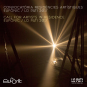 Call for artists in residence Eufònic 2017